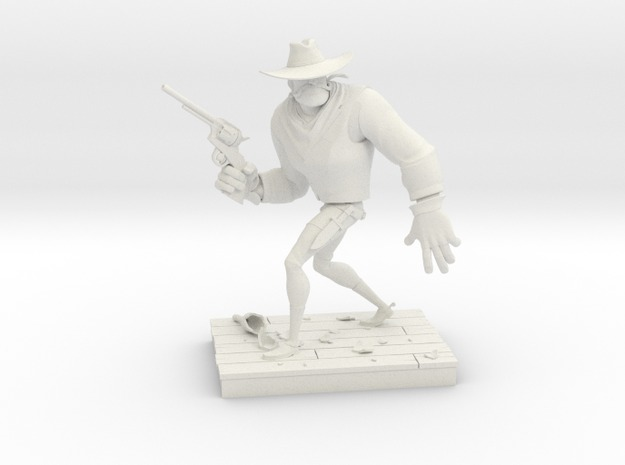 Second Prize: The Gunfighter by Richard's Maquettes