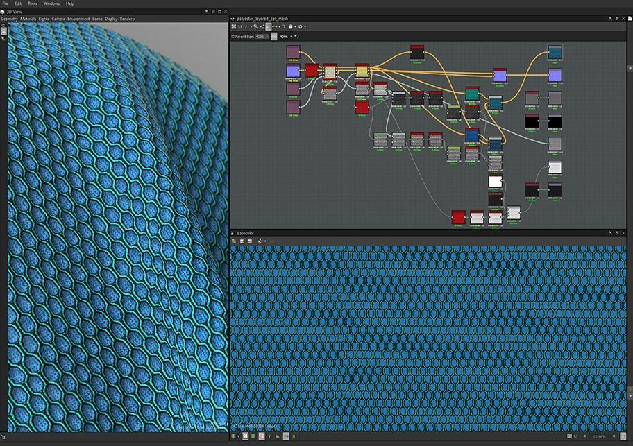 Polyester Layered Cell Mesh - screenshot.jpg