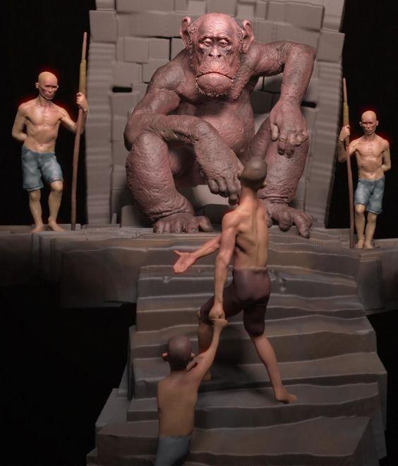 VR Sculpting demos by Gio Nakpil.