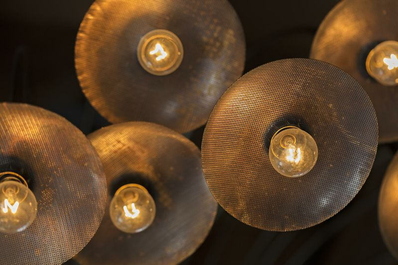 Lark Lighting detail
