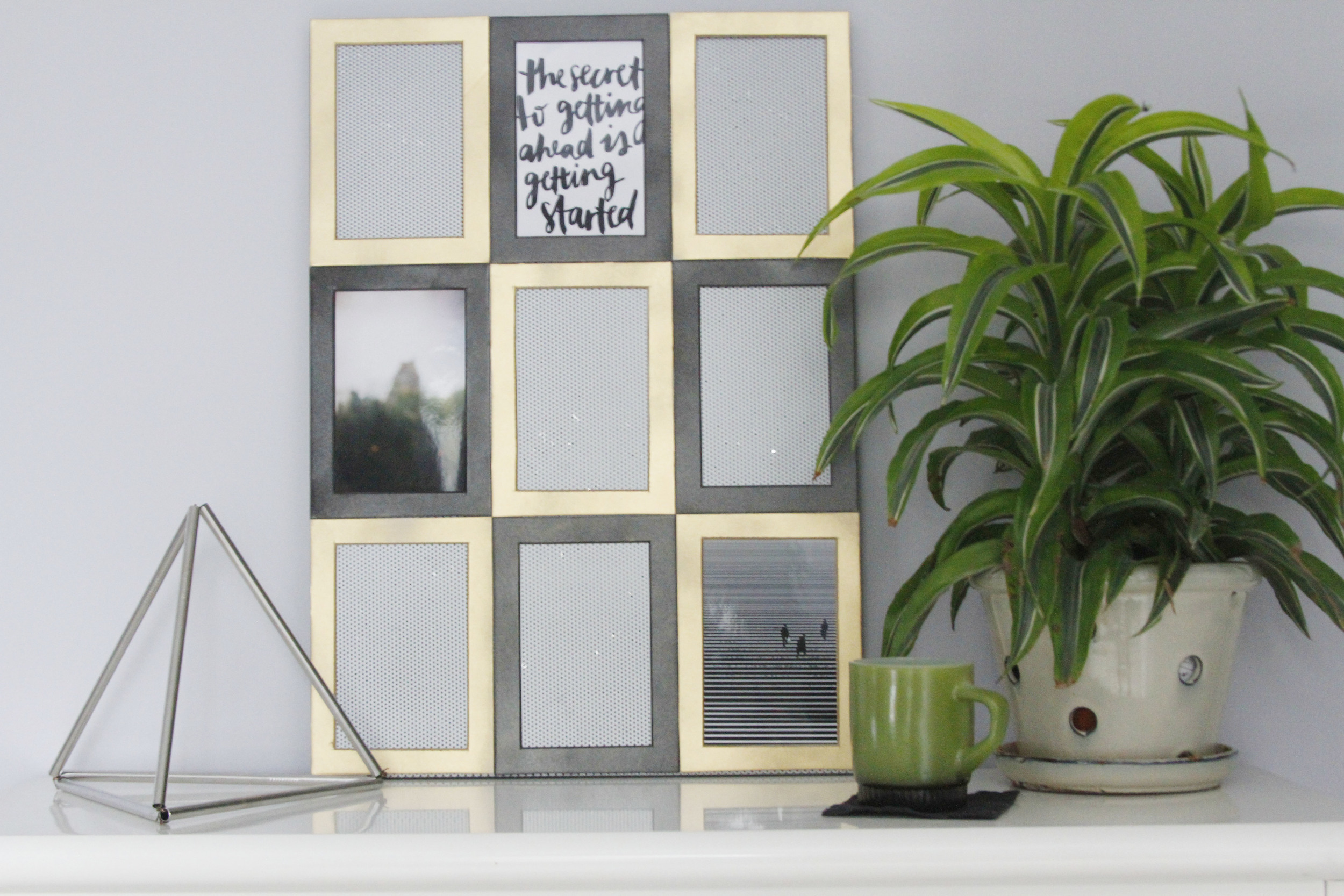 Blog Party Blog | DIY Memo Board