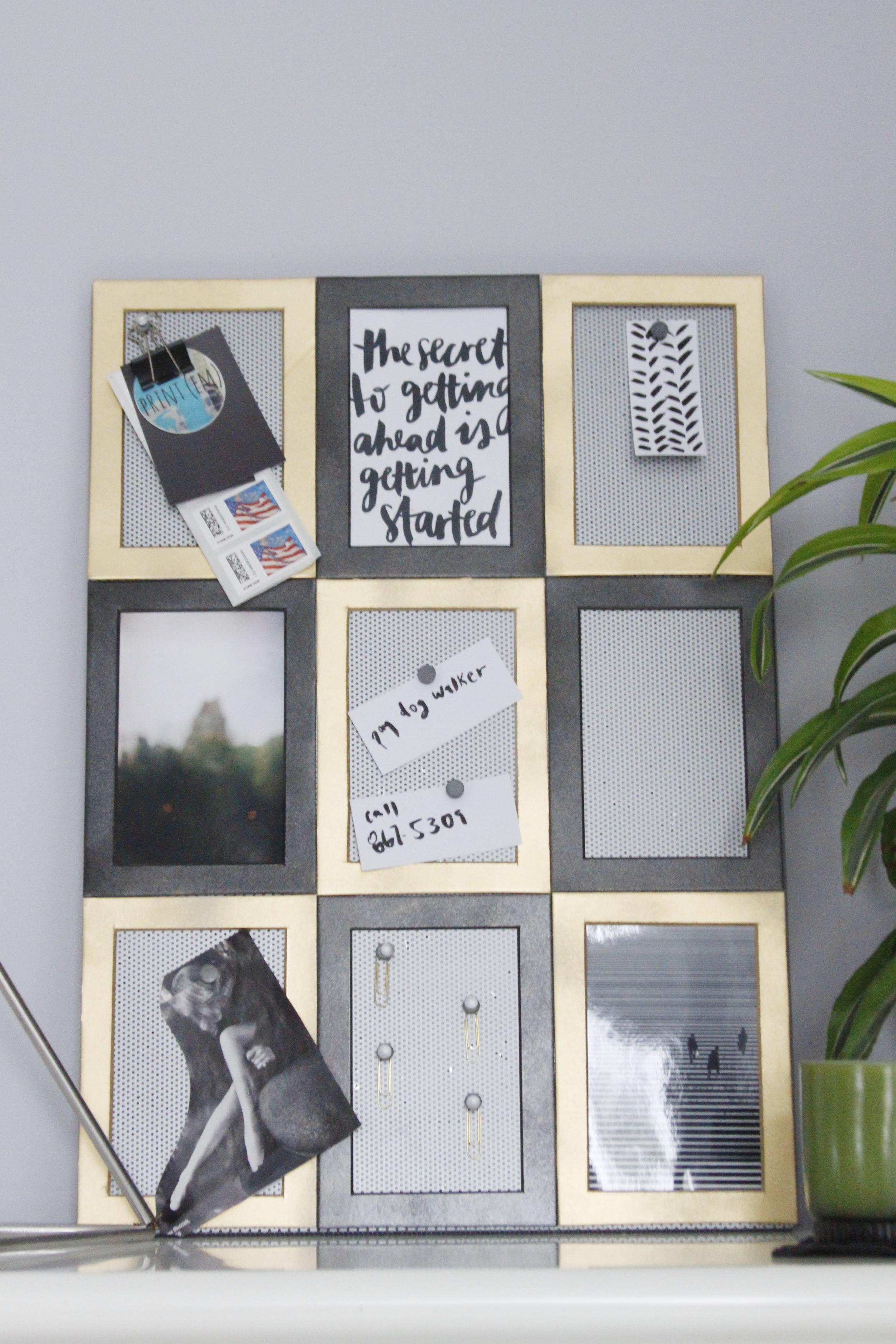 Blog Party Blog   DIY Memo Board