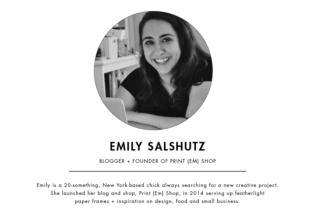 Blog Party Blog | Meet Emily Salshutz