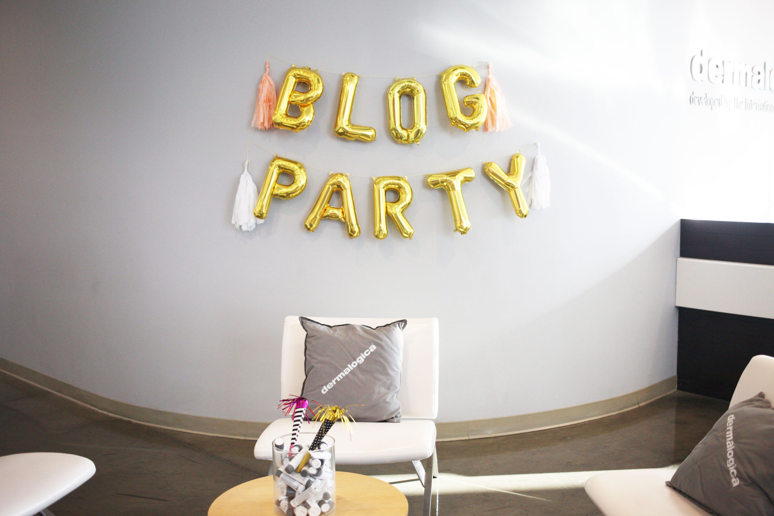 Blog PartyxDermalogica