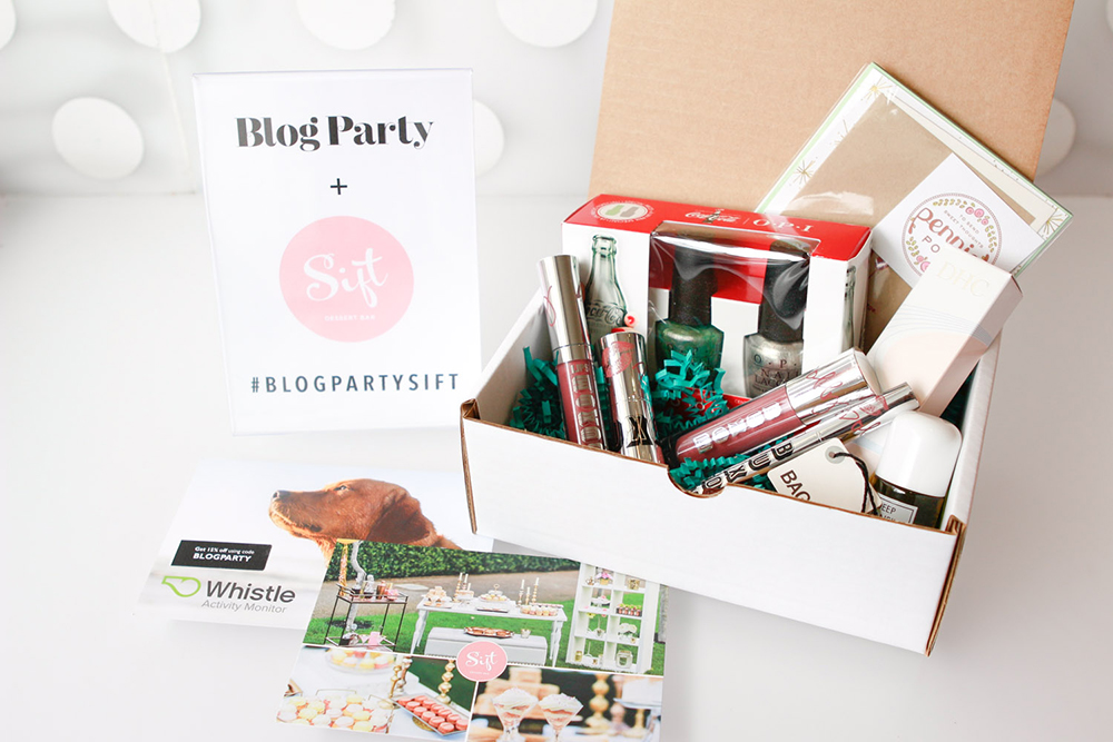 Blog Party x Sift Dessert Bar | Party Box