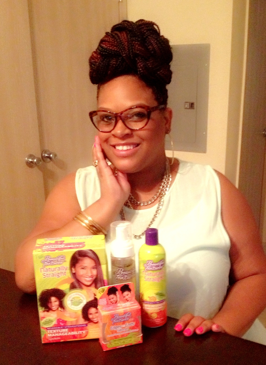 LaTanya Smith,  AlyiV.com Beautiful Textures Natural Summer Hair Giveaway Winner