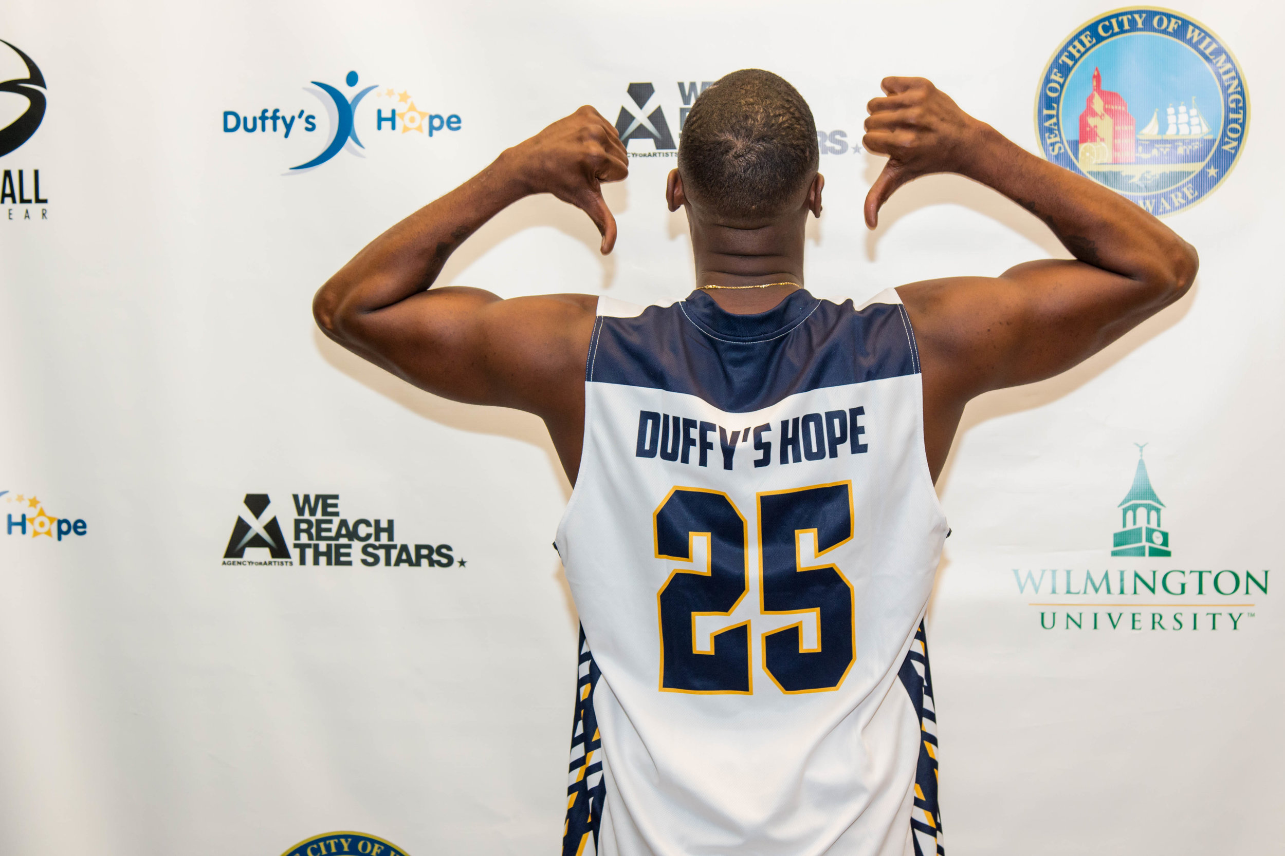 Jackie Long Repping Duffy's Hope