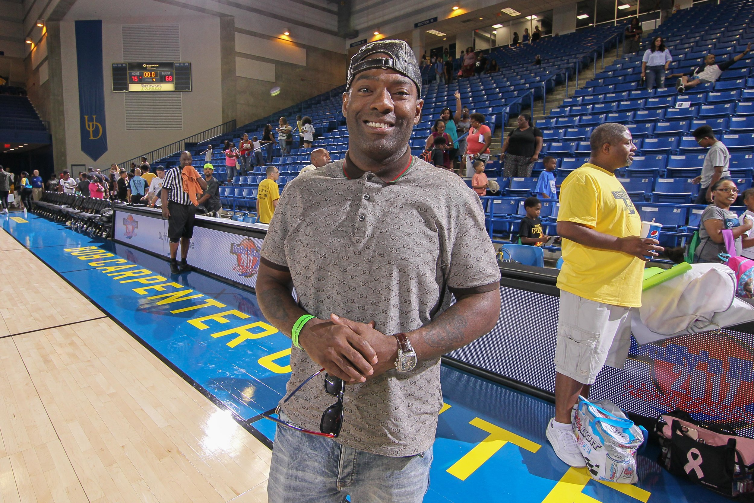 """Hassan Johnson (of """"The Wire"""") Supporting the Game"""