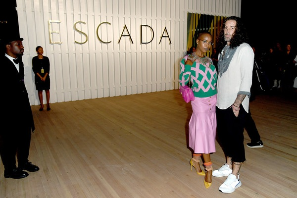 PAST event:   marija abney at nyfw (pictured here at escada show)  view case study
