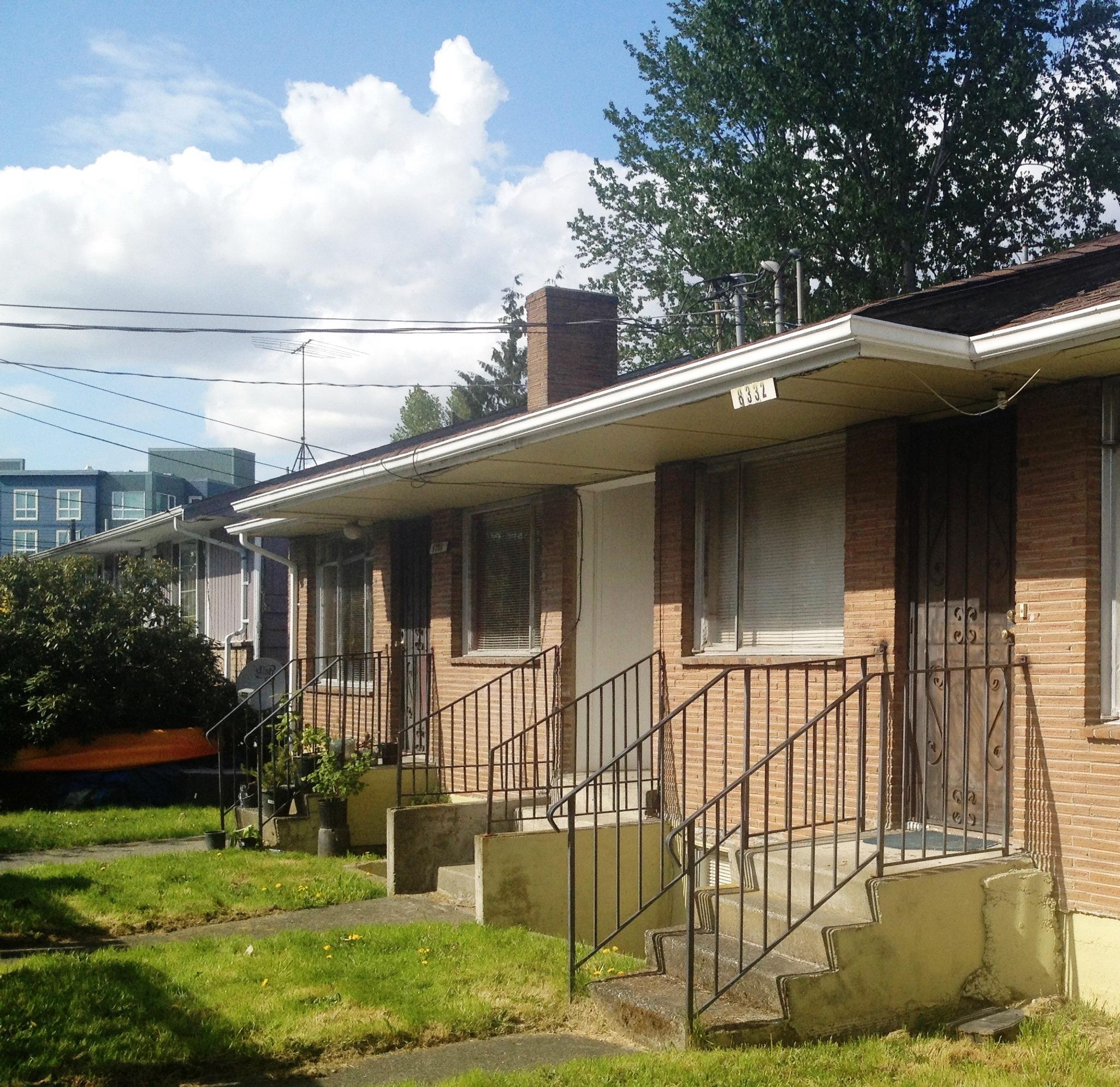 An older Seattle Duplex