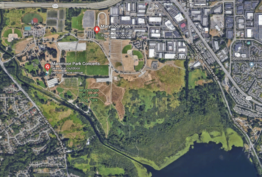 Marymoor Park, inclusive of active and passive recreation; 640 Acres; Redmond, WA