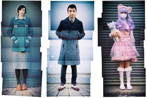 montage portraits by Kevin Meredith, aka LomoKev