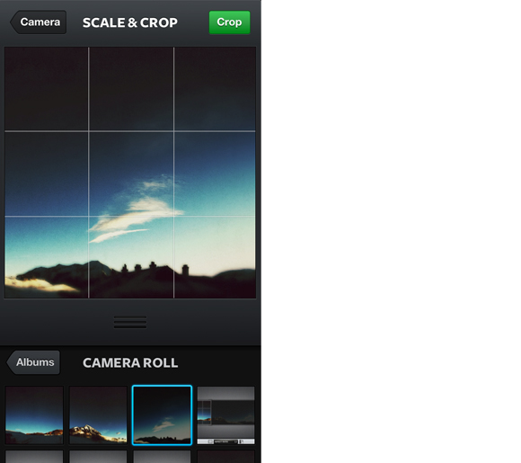 make sure you upload from right to left in Instagram
