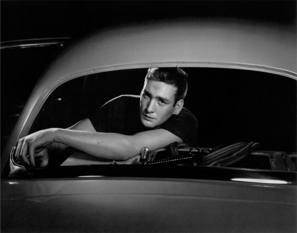 Ford of Canada , Rear Window, 1941. Photo by Yousuf Karsh.