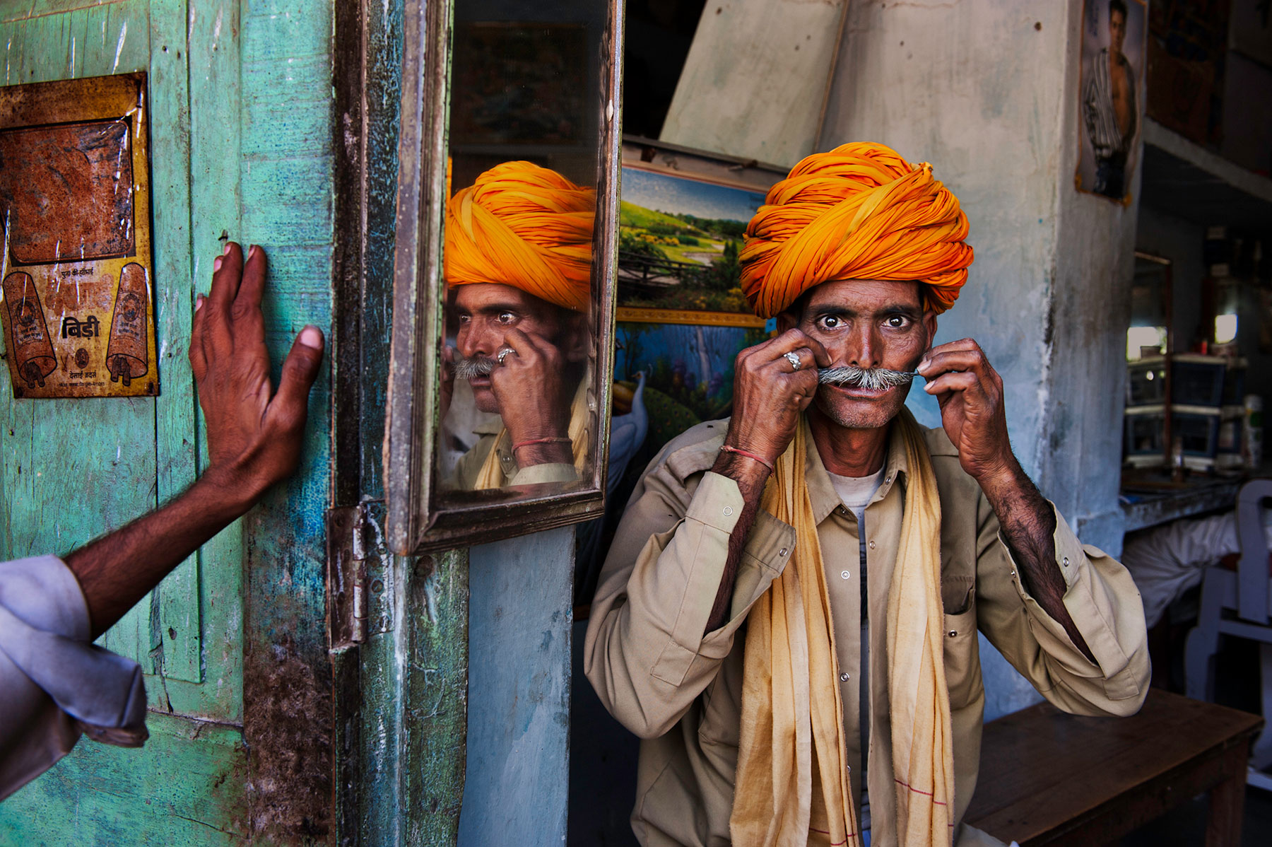 India.Photo by Steve McCurry.