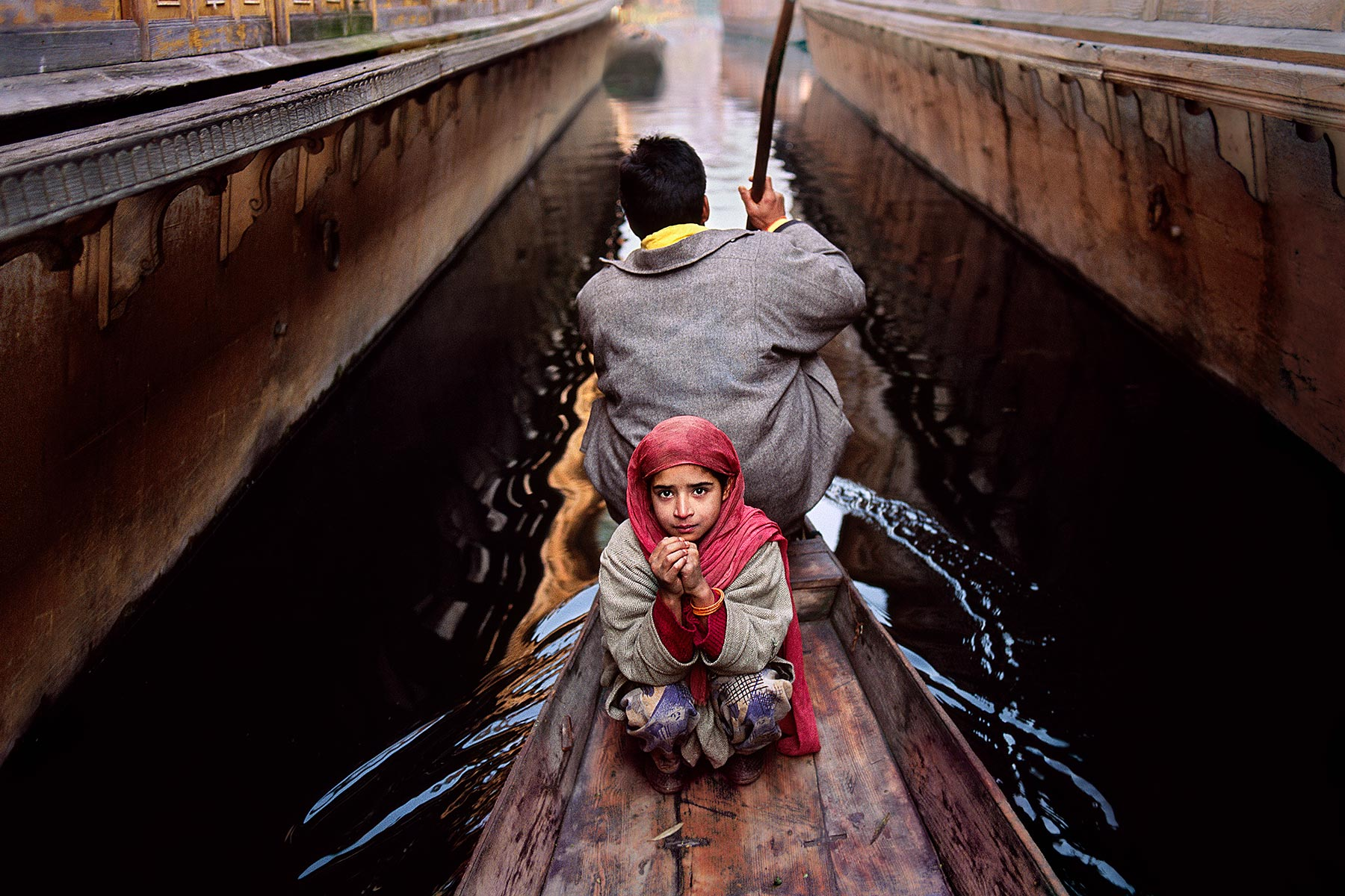 Photo by Steve McCurry.