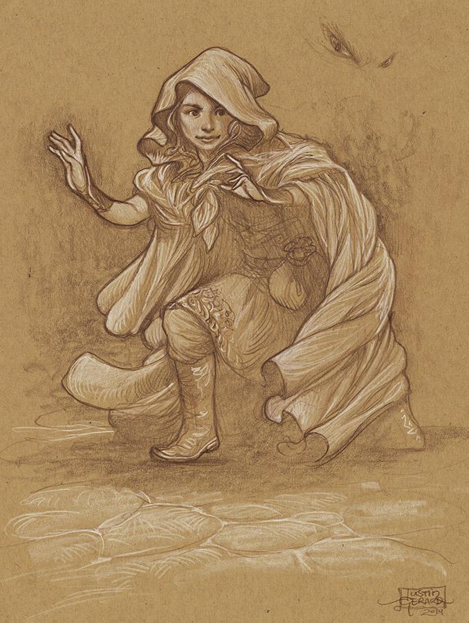 Elf Thief Study No. 1