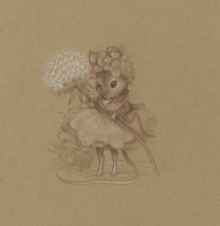 Mouse Drawing No. 3