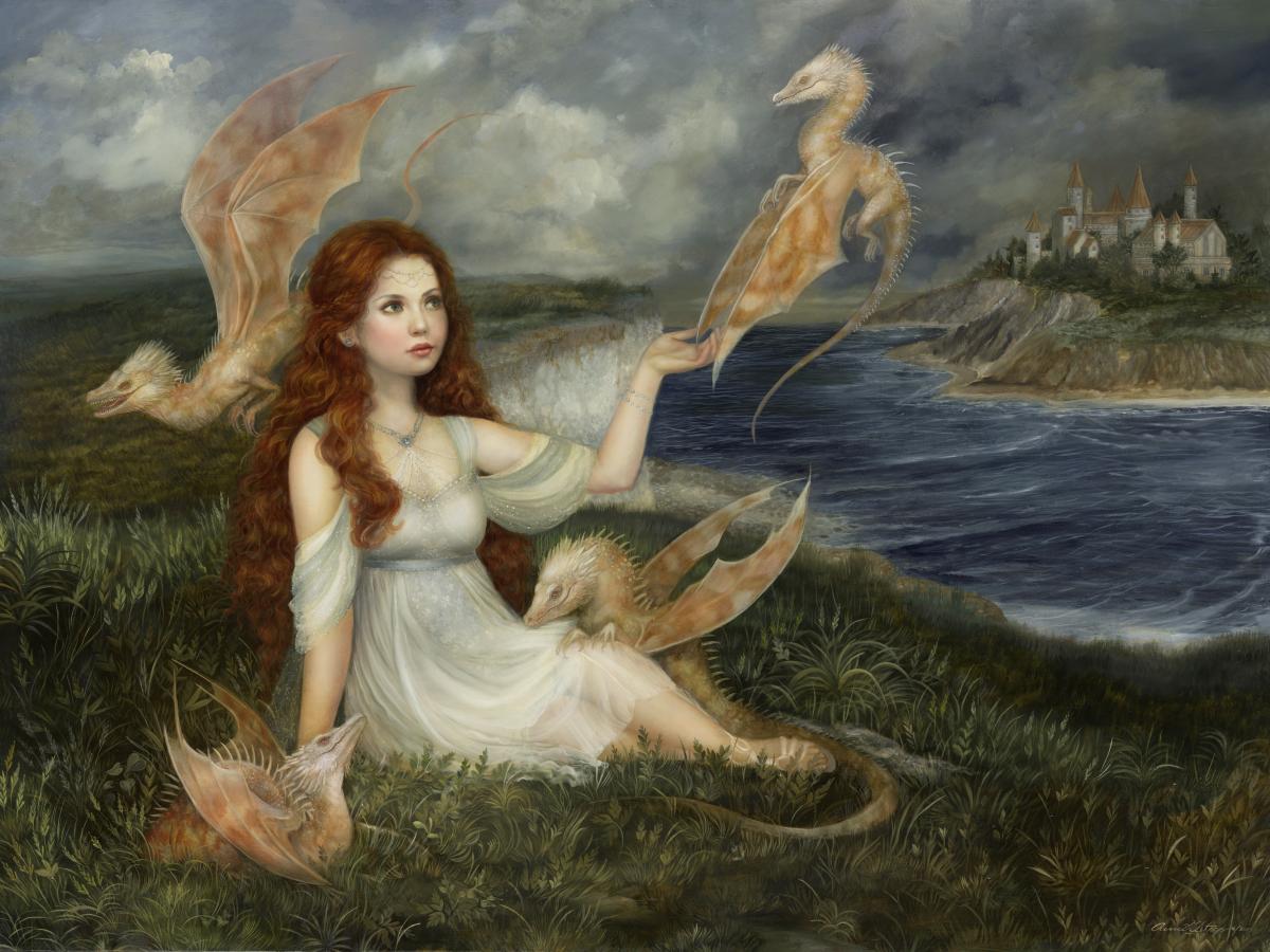 """""""Sea Songs"""", 30x40, oil on board SOLD"""