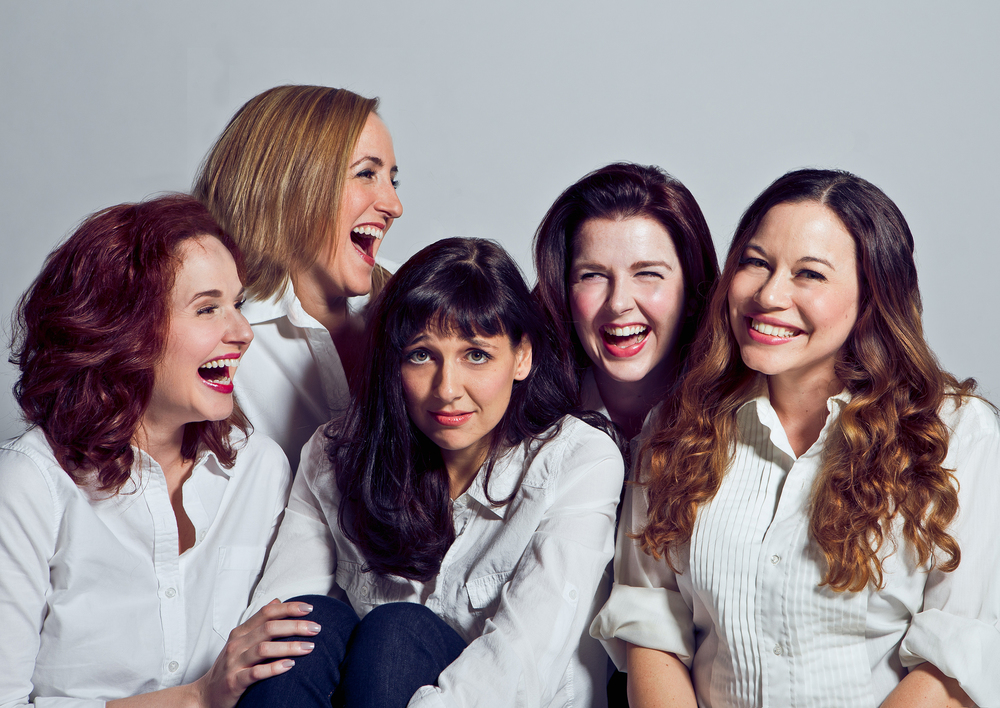 From left to right:  Cori Anne Laemmel, Megan Murphy Chambers, Erin Parker, Laura Matula, Melodie Madden Adams
