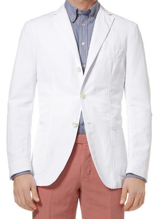 Michael Bastian Cotton & Linen-Blend Blazer
