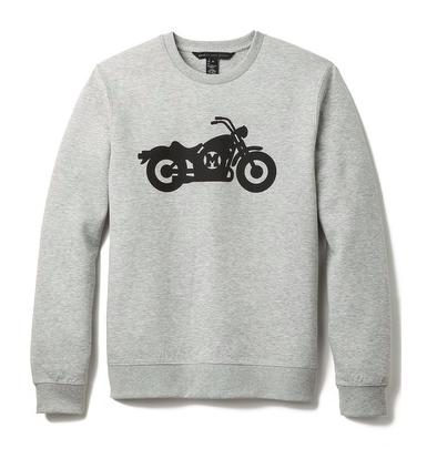 marc by marc jacobs motorcycle print sweatshirt