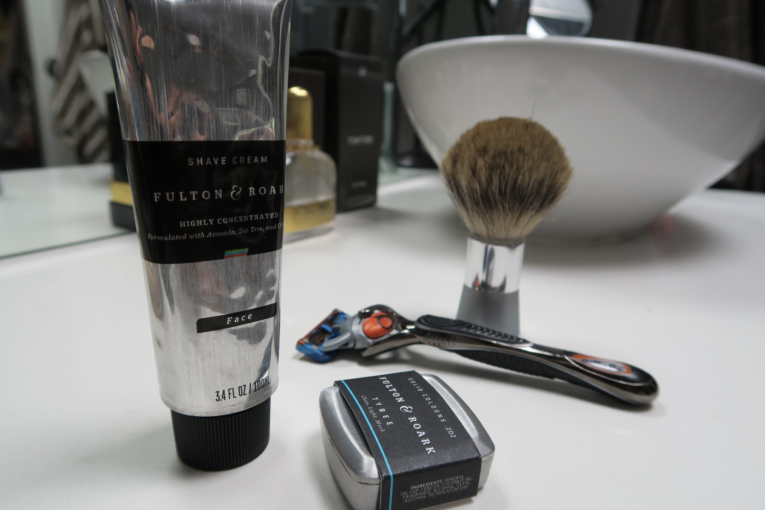 fulton & roark men's grooming products
