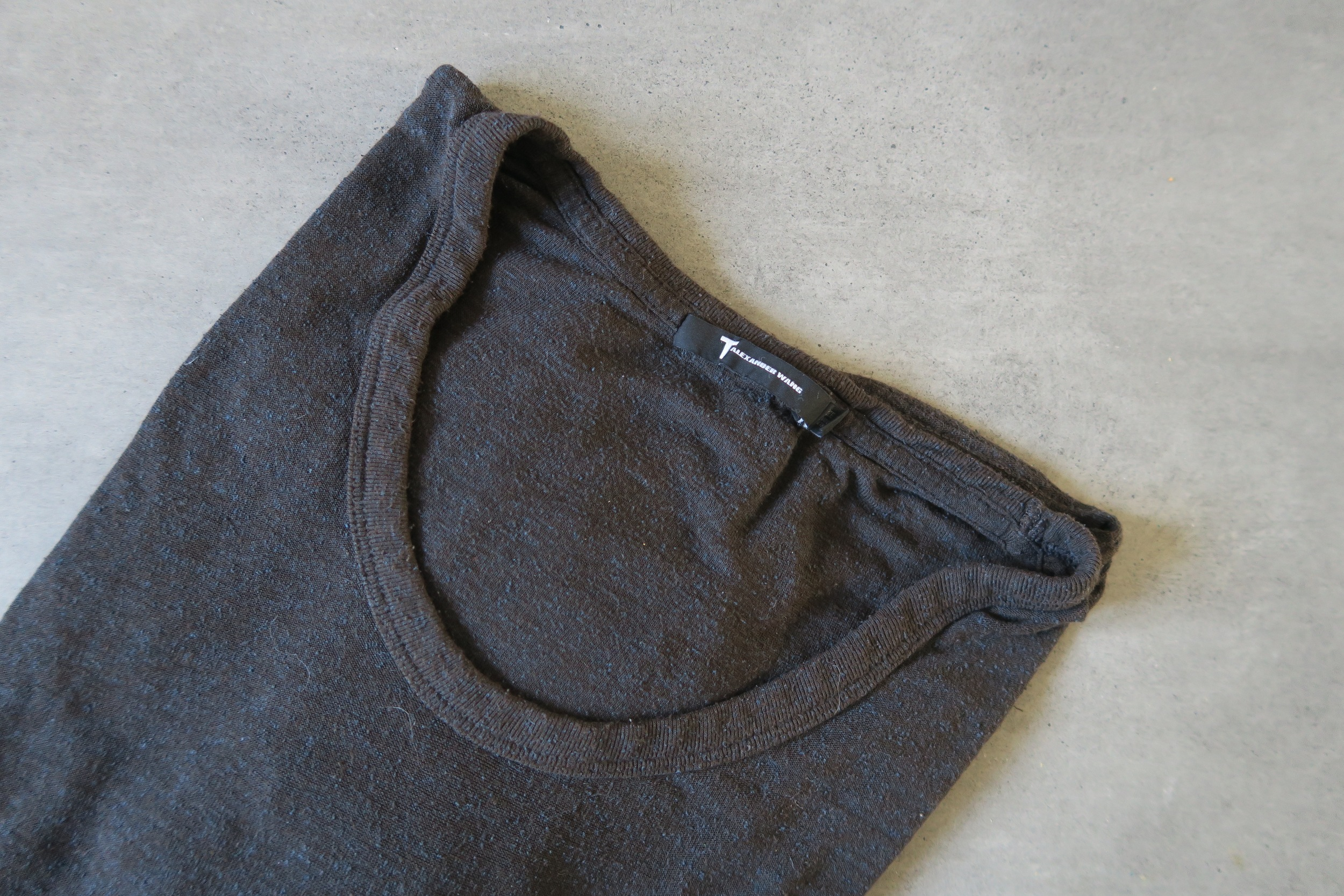 t by alexander wang club low neck t