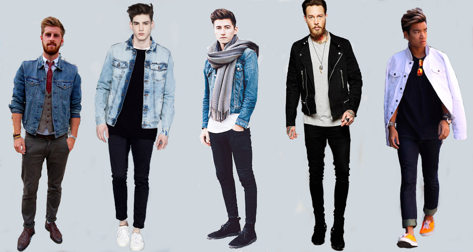 men's denim jacket style