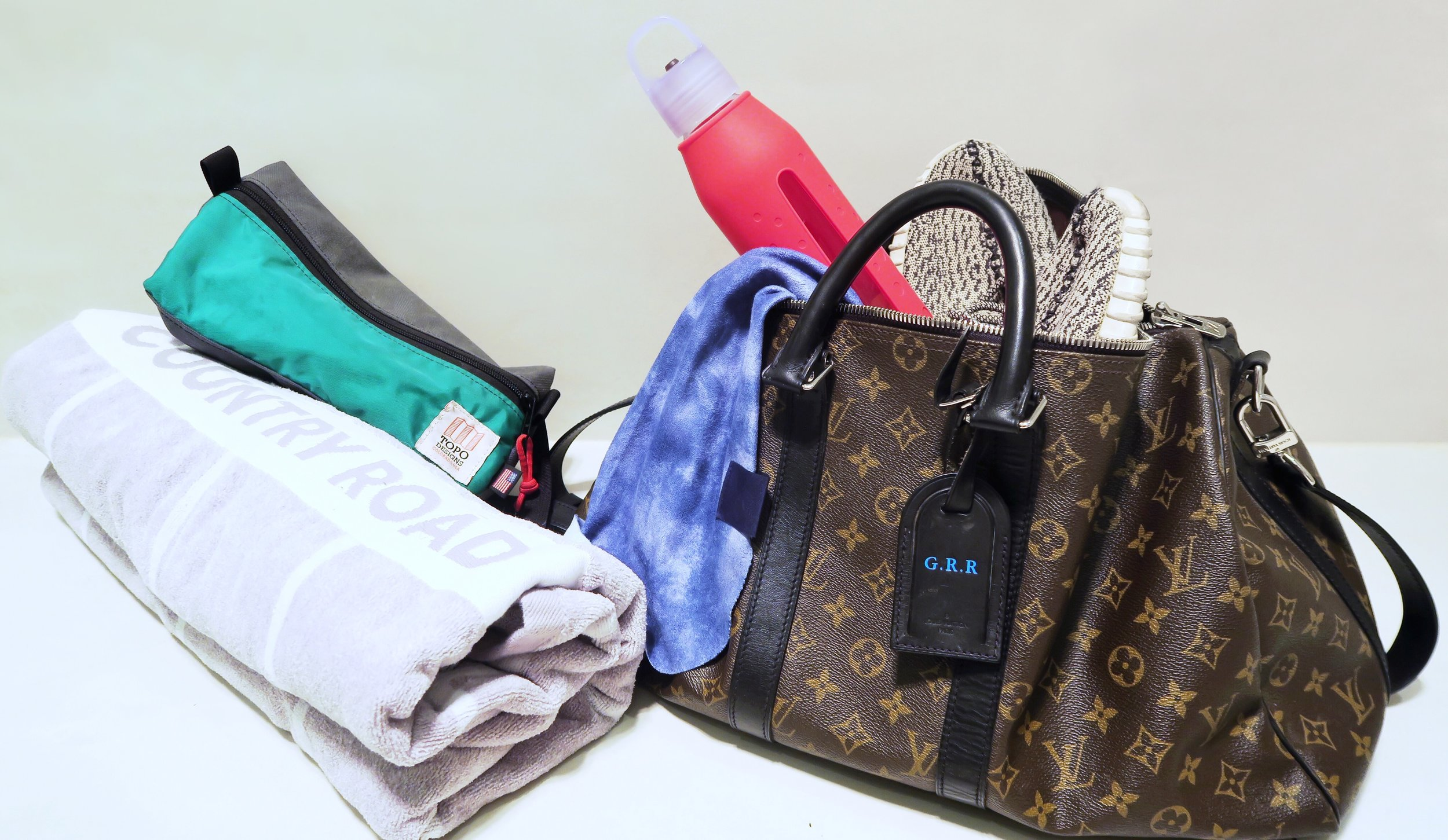 gym bag essentials louis vuitton