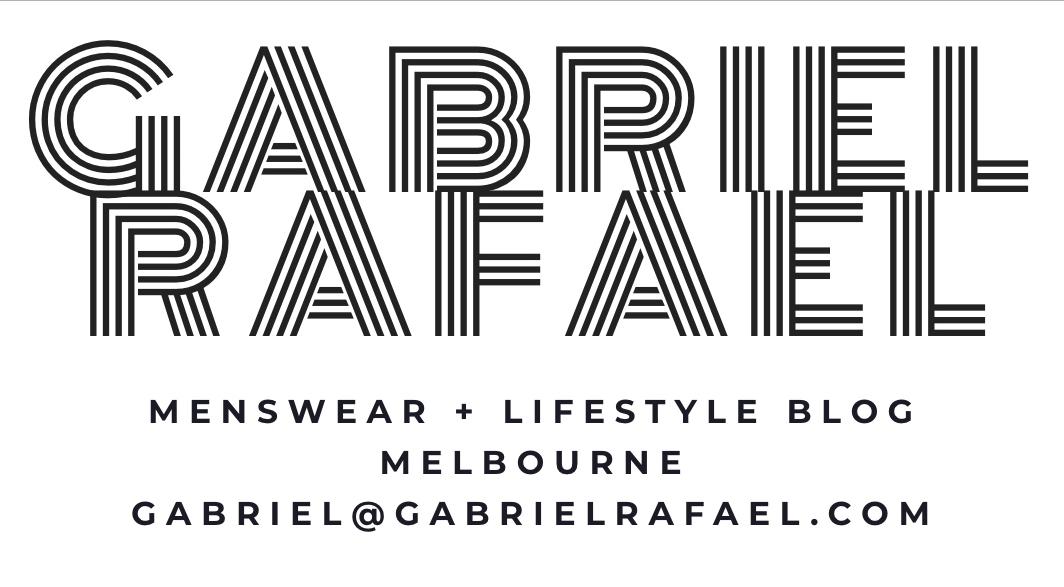 Gabriel Rafael menswear blog blogger Melbourne Australia