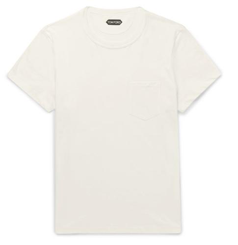 tom ford white t-shirt