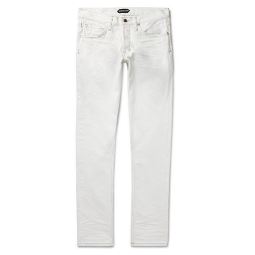 Tom Ford White Denim Jeans Menswear