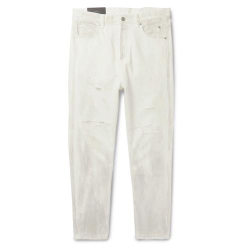 Balmain White Denim Jeans Menswear