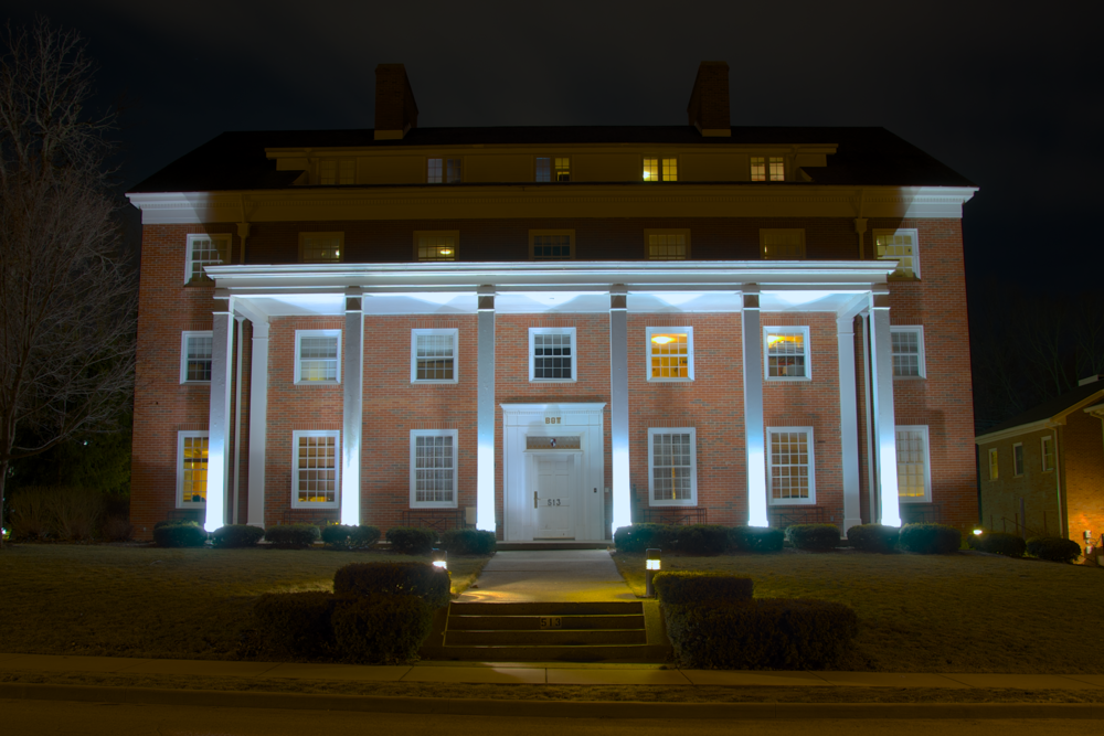 """The home of the Beta Theta Pi at Wabash, """"Old 513"""""""