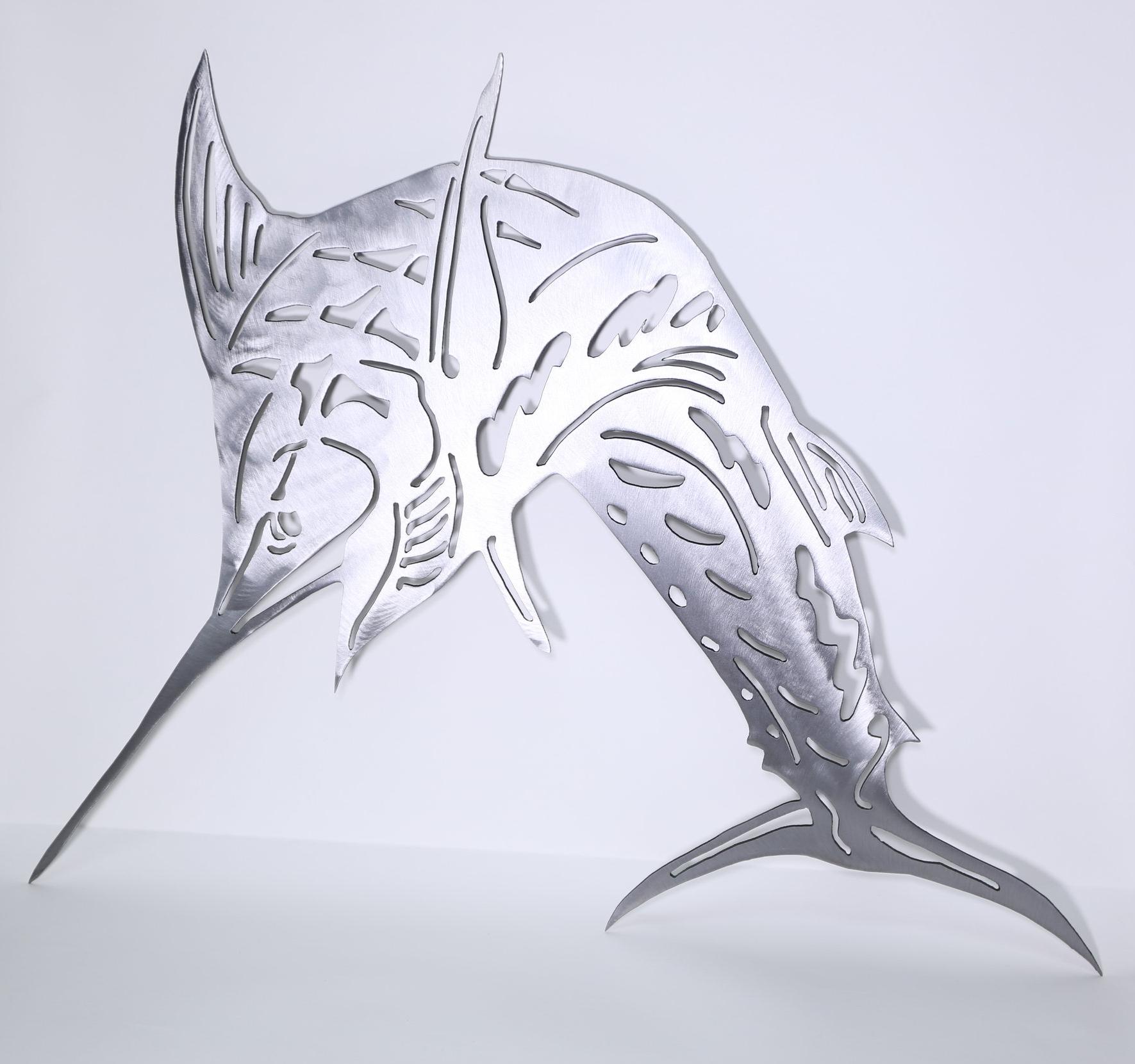 Marlin Original Metal Sculpture