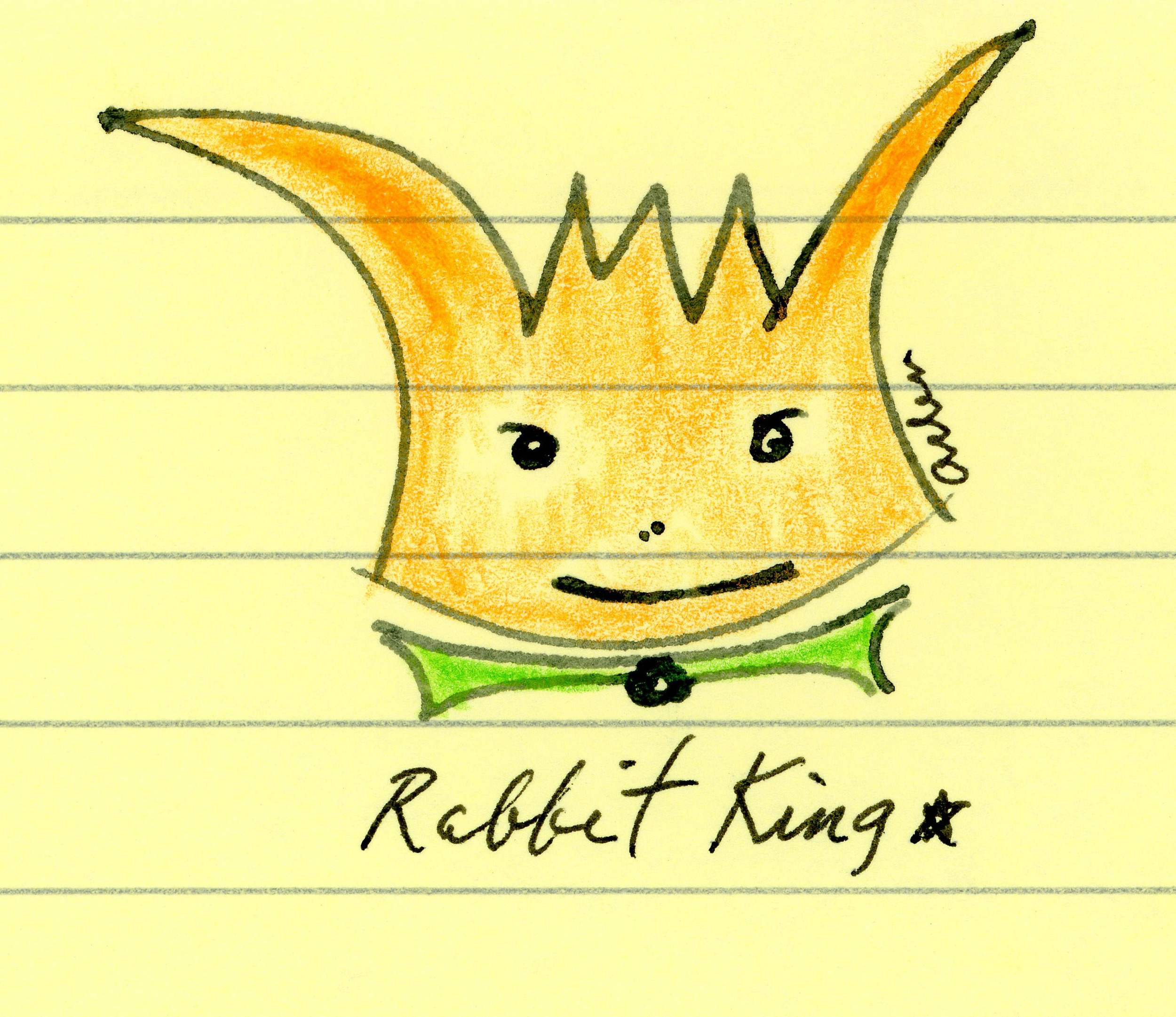 Yes, I am the Rabbit King.
