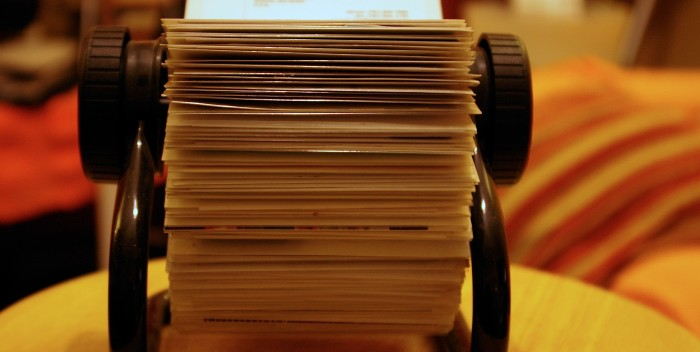 Rolodex for Collecting People