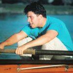 Chris Abraham GWU Crew Rower 8 Man Heavy Weight