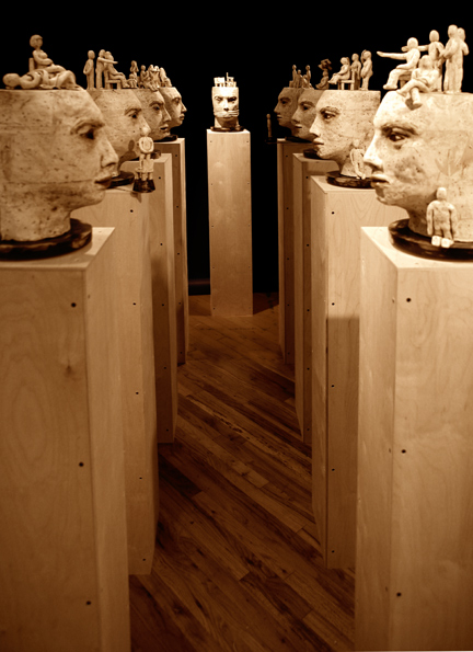 Dialogue Installation  ,  2007, Mixed Media (sold)