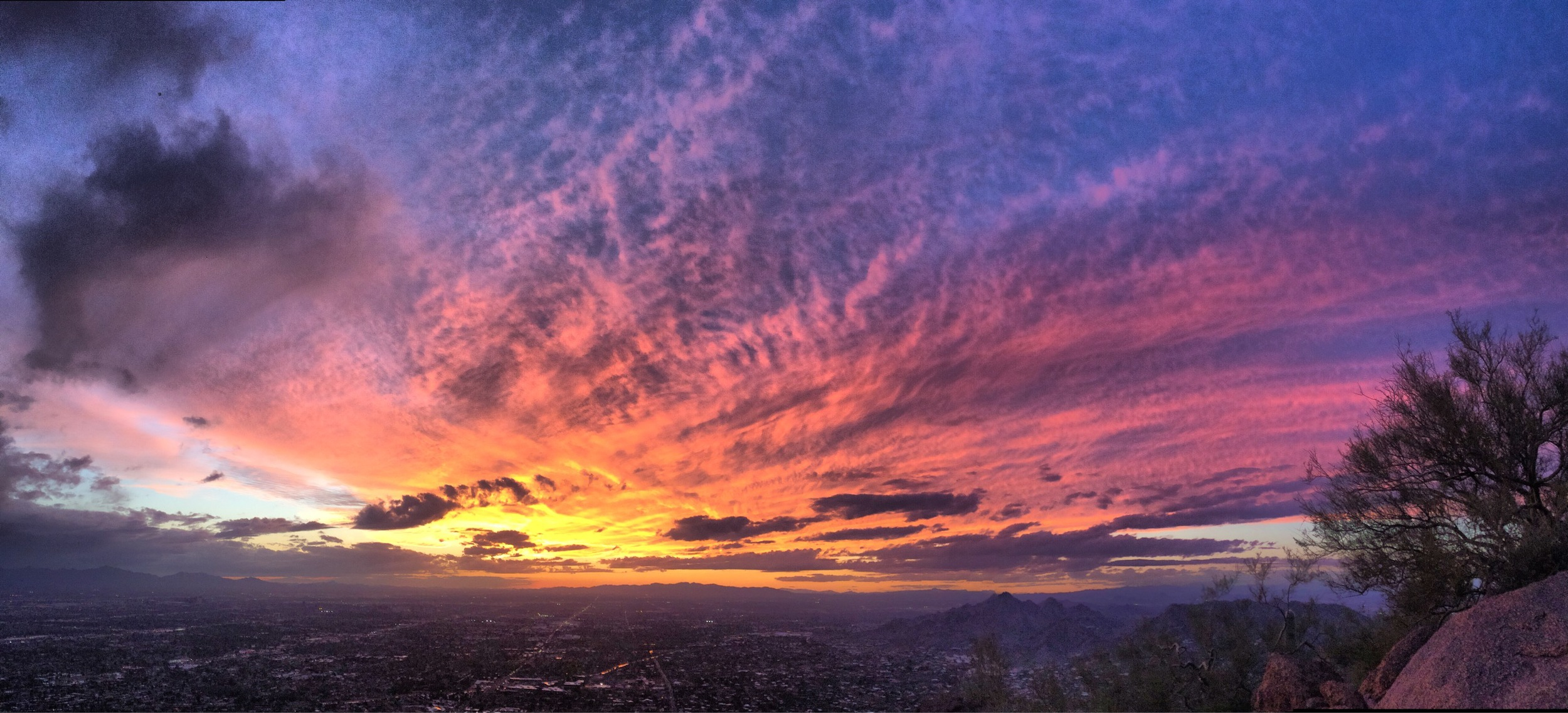 Sunset at Camelback Summit