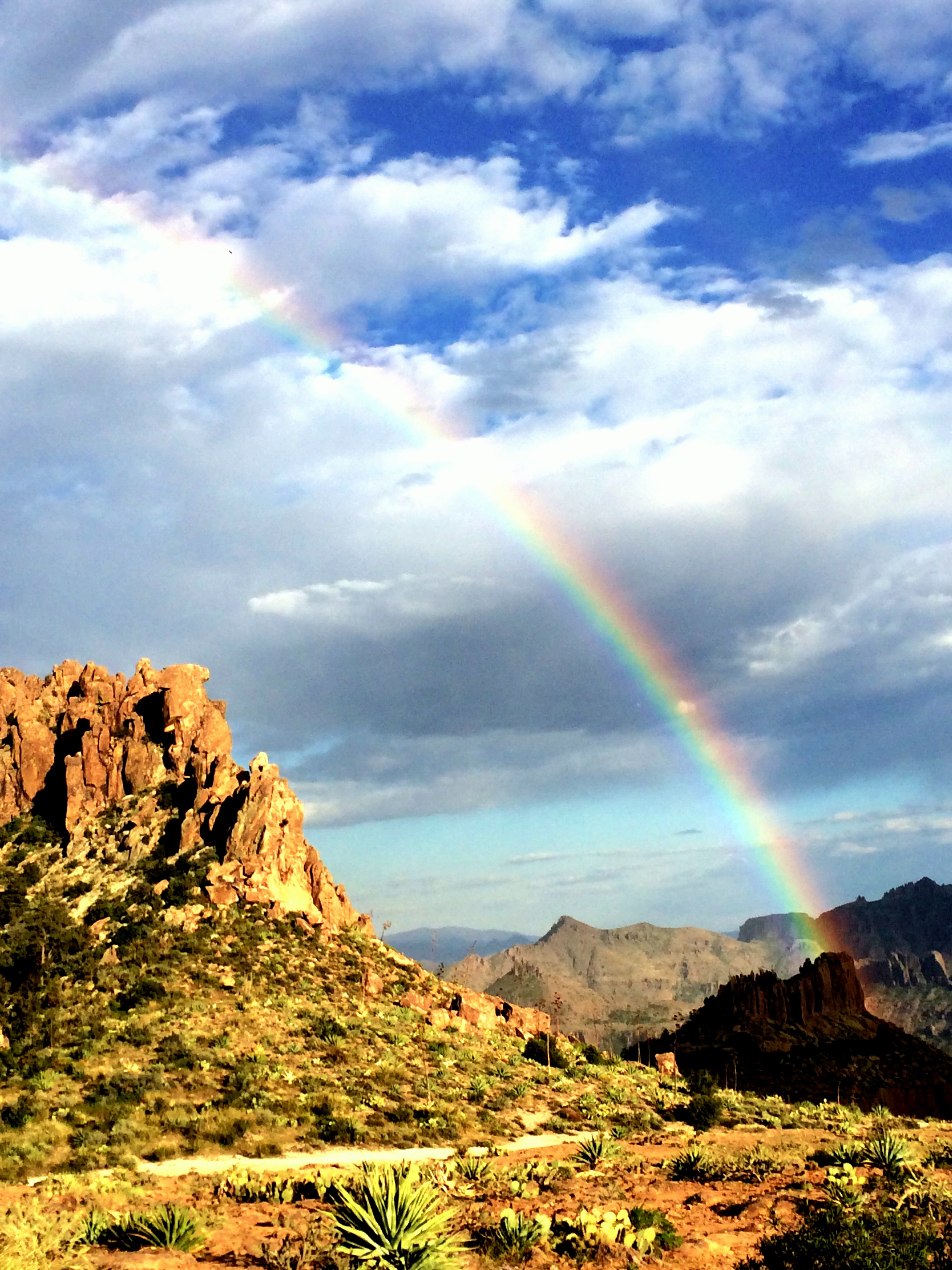 Flatiron - Superstition Mountains