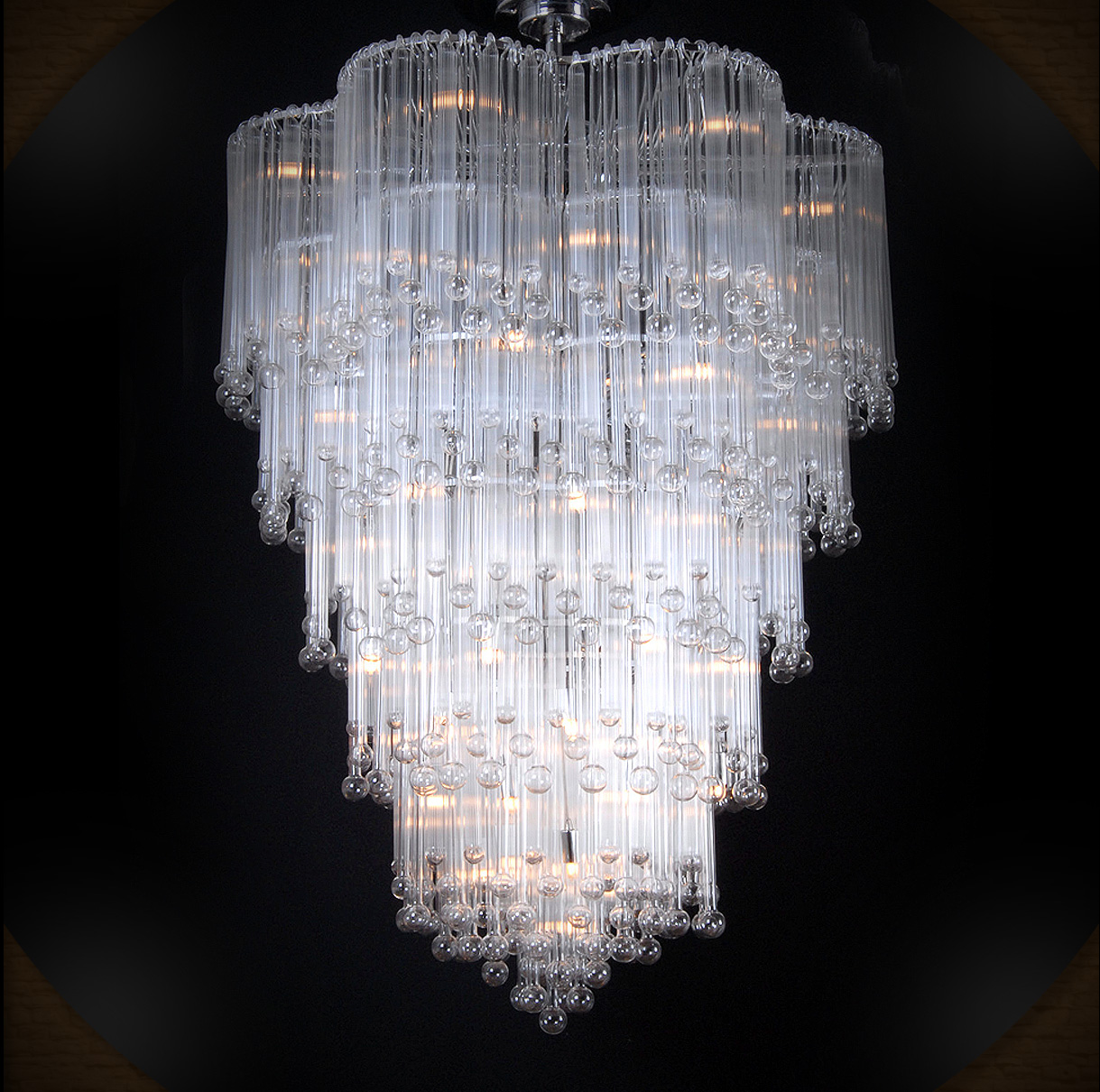 i used 2 b intimidated by this chandelier, but now we have an understanding.