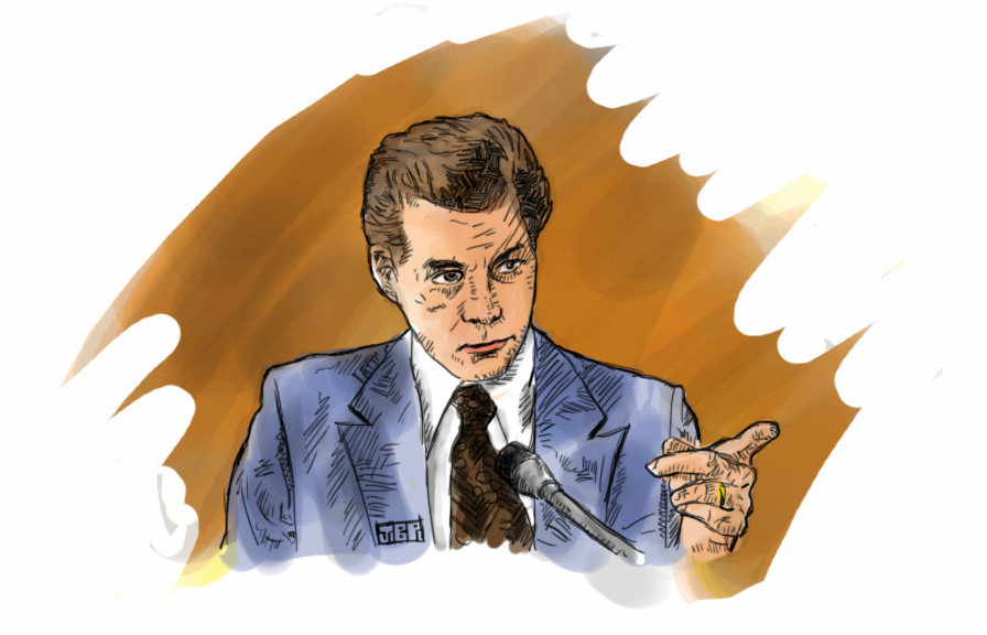 """Henry Hill"" 15 Minute Sketch - by Jonathan B Perez - cREATive Castle Studios 1"