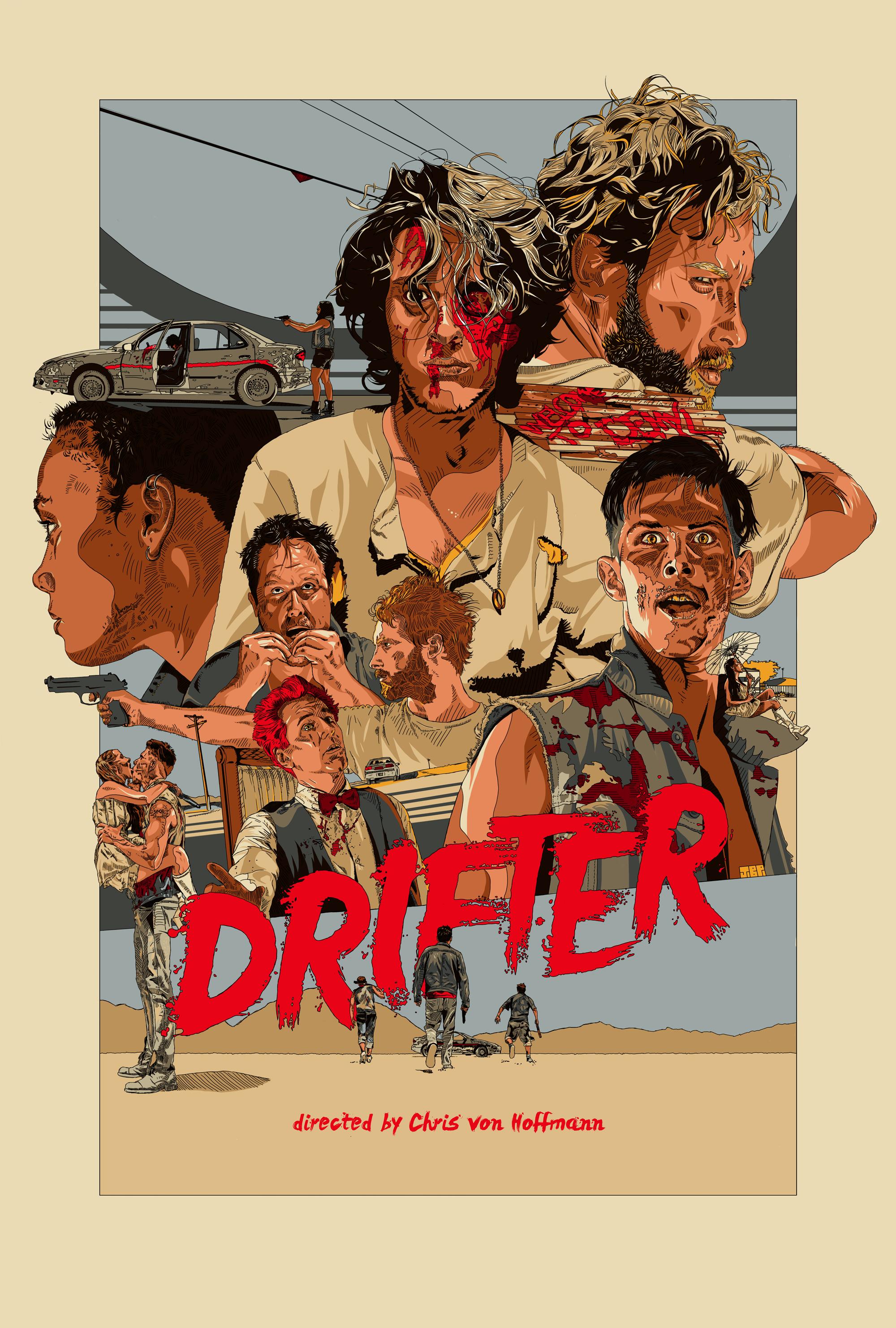 Drifter Official Movie Poster - Film and TV - Jonathan B Perez - cREAtive Castle Studios.jpg