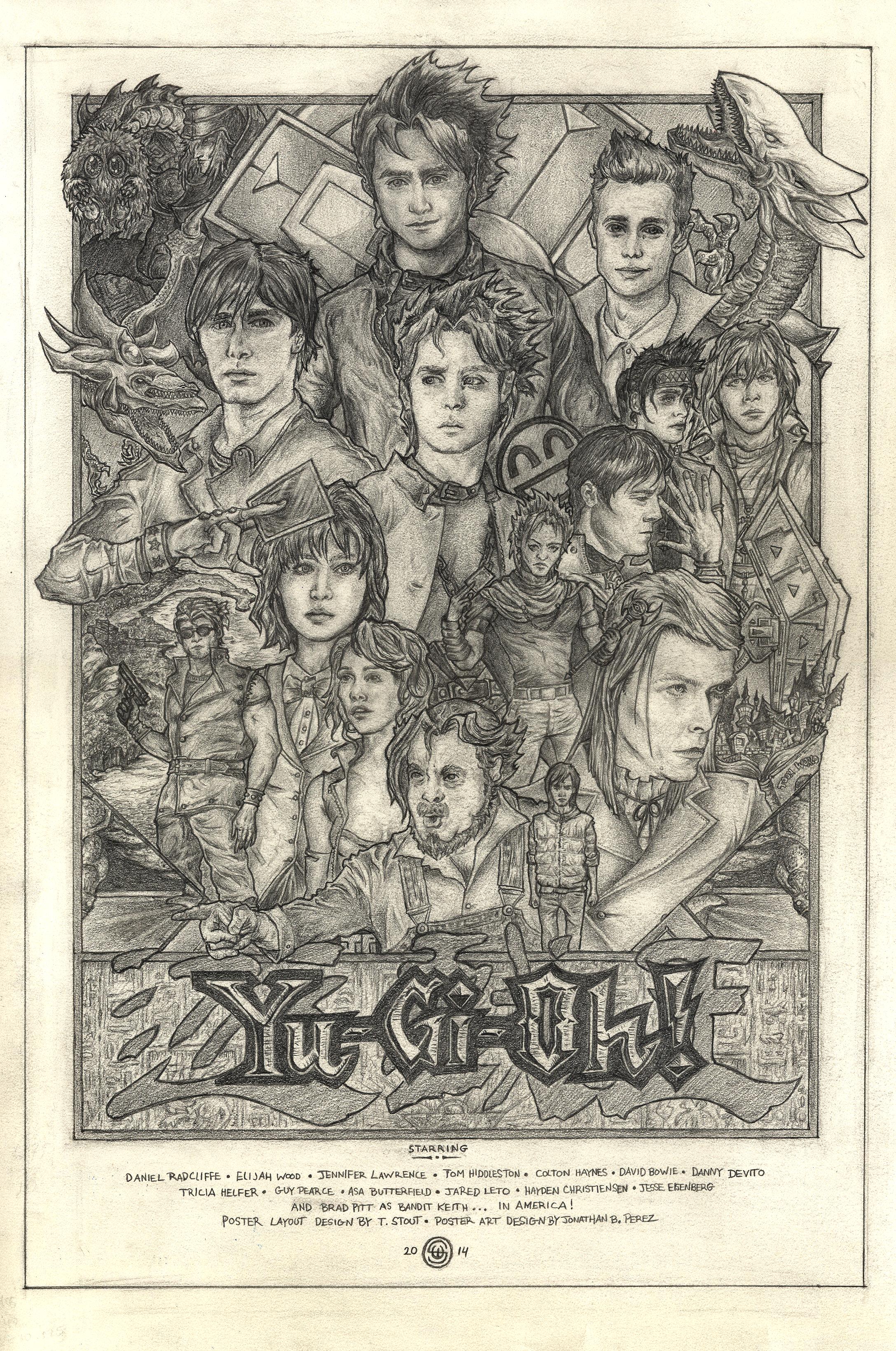Yu-Gi-Oh! Faux Movie Poster - Fan Art, Film and TV - Jonathan B Perez - cREAtive Castle Studios.png