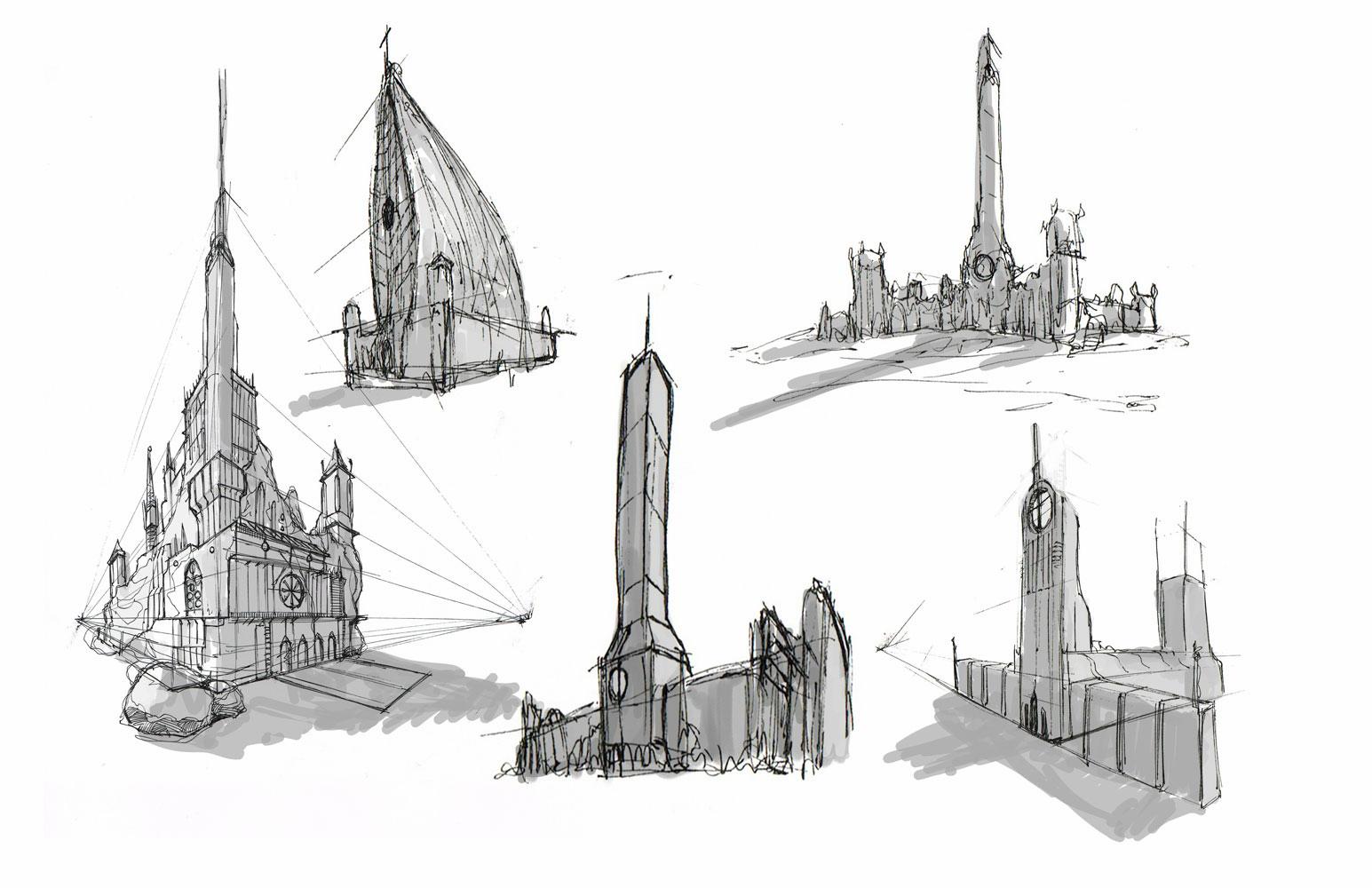 Bill Thompson - Environment Sketches - cREAtive Castle Studios 14.jpg