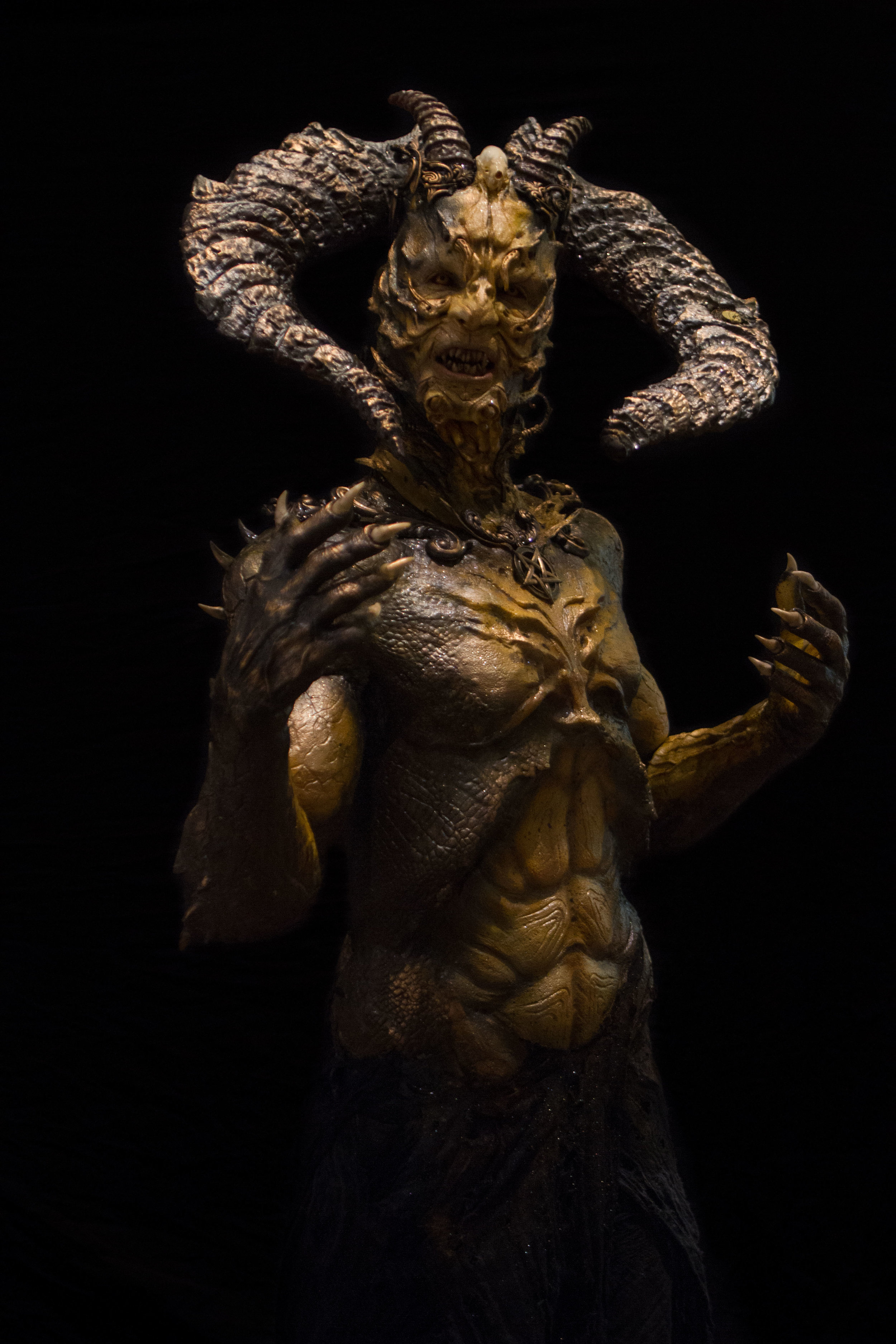 Nomen Illis Legio demon (special effects by FX Creator (Vlad Taupesh & Josef Rarach) Photo by KyleReaPhotography.com)