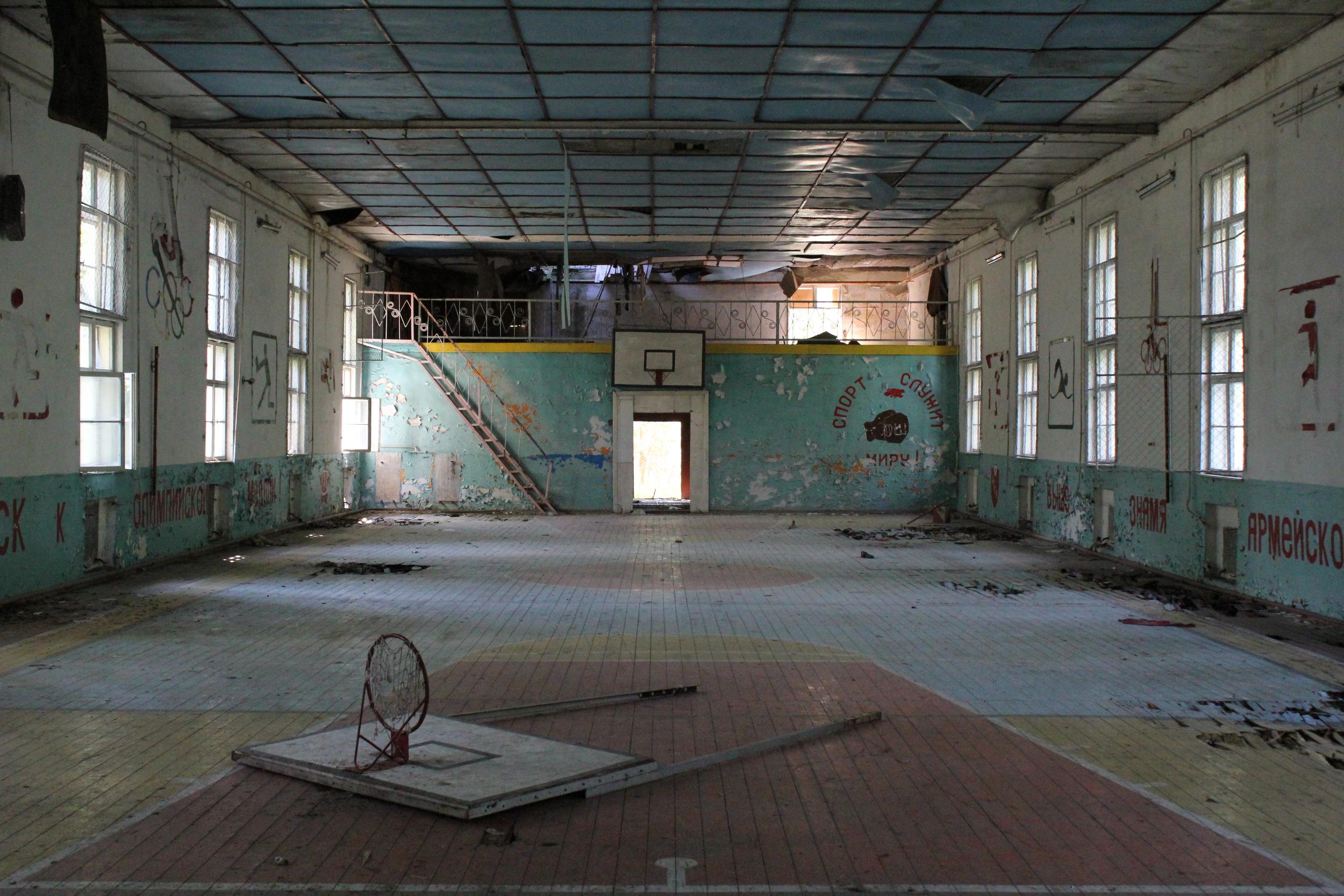 Abandoned soviet base in Brandenburg