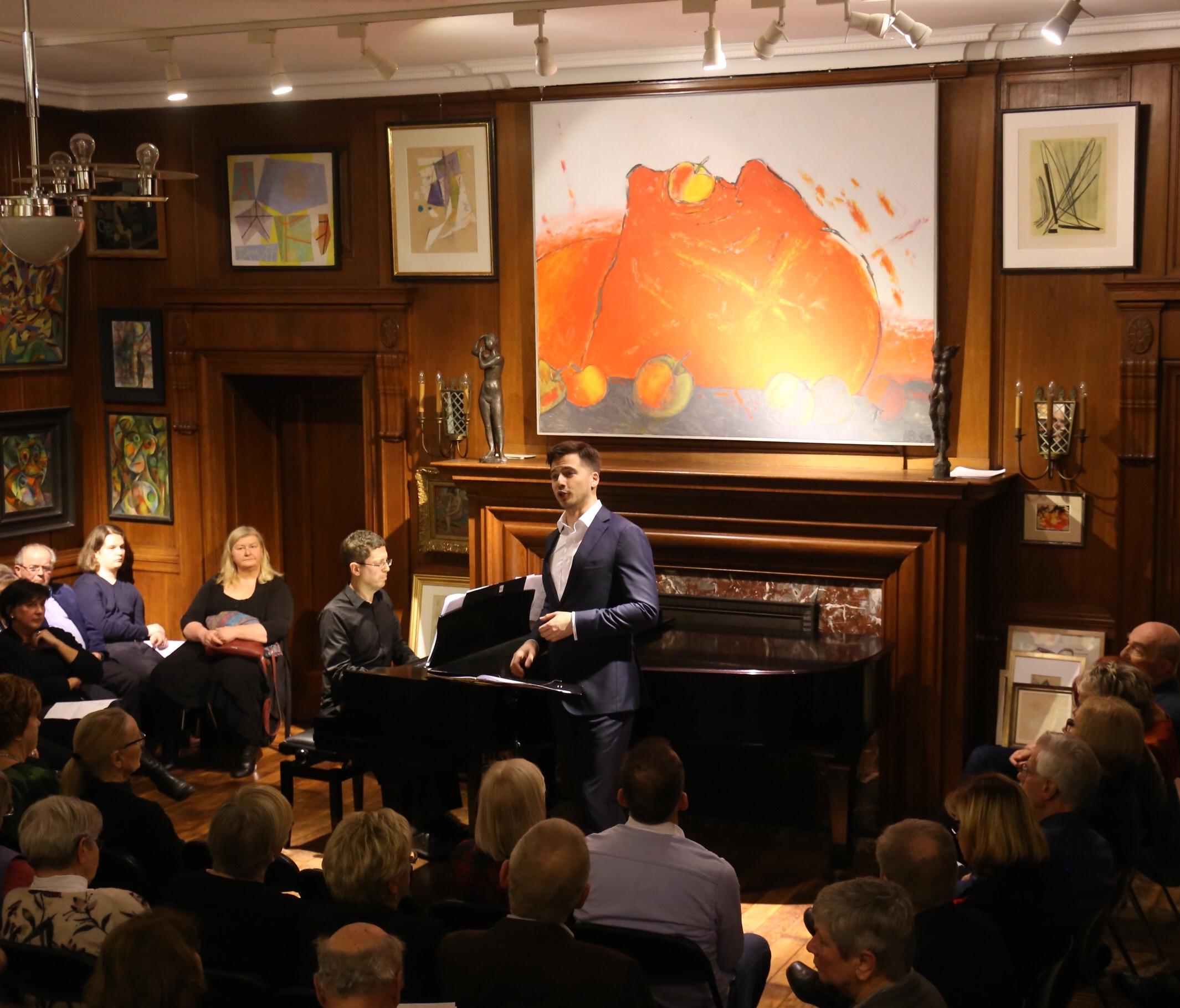 In recital in Brandenburg